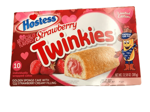 Hostess Hostess Strawberry Twinkies, Valentine's Day Limited Edition, 13.58 oz