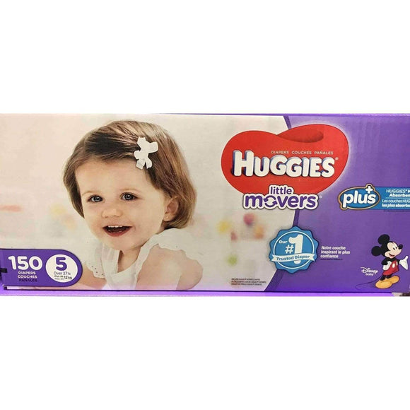 Huggies Huggies Little Movers Plus Size 5, 150 Pack