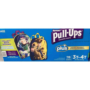 Huggies Huggies Pull-Ups for Boys - The Most Absorbant Huggies Training Pant (Size 3T-4T: 116ct, 32-40lbs)