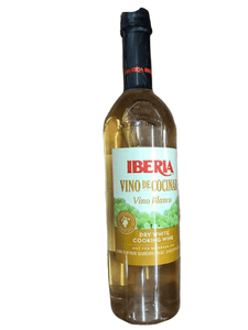 Iberia Dry White Cooking Wine, Vino Blanco 25.4 OZ - ShelHealth.Com