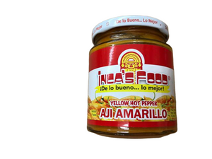 Inca's Food Inca's Food Aji Amarillo Paste - Hot Yellow Pepper Paste, 7.5 Oz