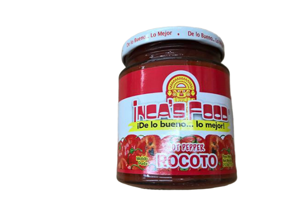 Inca's Food Inca's Food Aji Rocoto Molido, Hot pepper, 7.5 oz