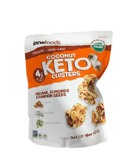 Innofoods Innofoods Coconut Keto Clusters with Organic Pecans, Almonds & Pumpkin Seeds, 16 oz.