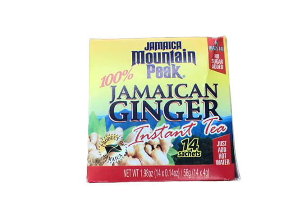 Jamaica Mountain Peak Jamaica Mountain Peak Ginger Instant Tea Unsweetened 14 sachets