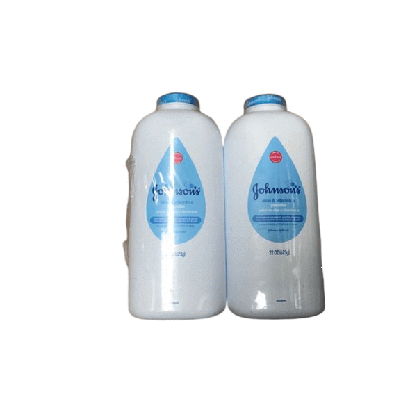 Johnson's Baby Johnson's Naturally Derived Cornstarch Baby Powder with Aloe & Vitamin E, 2 pk./22 oz.
