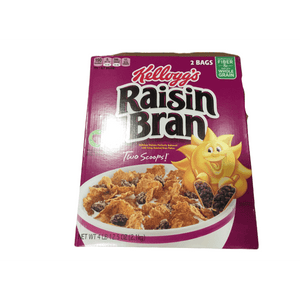 Kellogg's Kellogg's Raisin Bran, Breakfast Cereal, Original, Excellent Source of Fiber, 77 oz