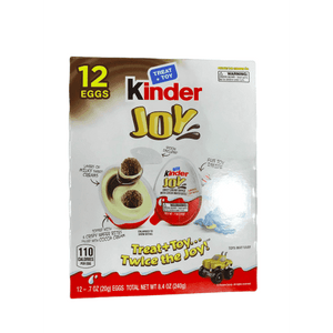 Kinder Kinder  Chocolate Eggs with Toy, 12 Count