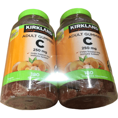 Kirkland Signature Kirkland Signature Adult Gummies Vitamin C 250 mg., 360 Ct.