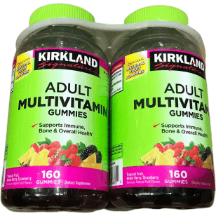 Kirkland Signature Adult Multivitamin Gummies  - 320 Count - ShelHealth.Com