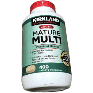 Kirkland Signature Kirkland Signature Adults Mature Multi Vitamins , 400-Count Tablets