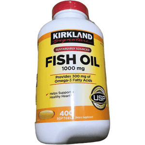 Kirkland Signature Kirkland Signature Fish Oil 1000mg, 400 Count