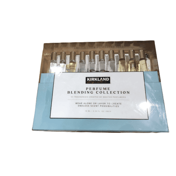 Kirkland Signature Perfume Blending Collection Set of 10 Frangrance Rollerballs - ShelHealth.Com