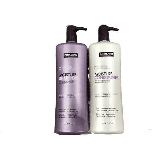 Kirkland Signature Kirkland Signature Professional Salon Formula Moisture Shampoo & Conditioner Set (33.8 Oz Each)