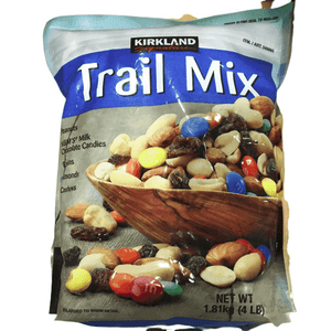 Kirkland Signature Kirkland Signature Trail Mix, Peanuts, M and M Candies, Raisins, Almonds and Cashews, 4 Pound