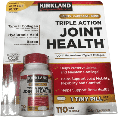 Kirkland Signature Kirkland Signature Triple Action Joint Health, 110 Coated Tablets