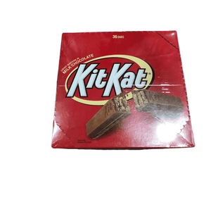 KIT KAT KIT KAT Candy Bar, Milk Chocolate Covered Crisp Wafers, 1.5 Ounce Bar (Pack of 36)