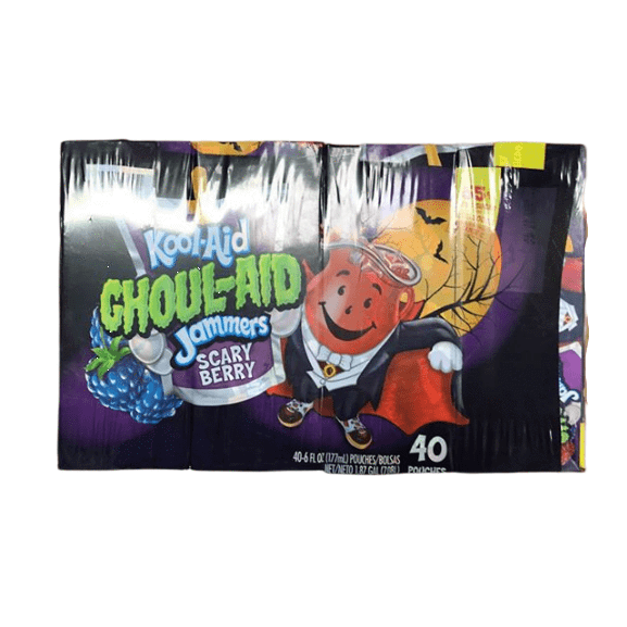 Kool-Aid Kool-Aid Choul-Aid Jammers Scary Berry, 40 Pouches