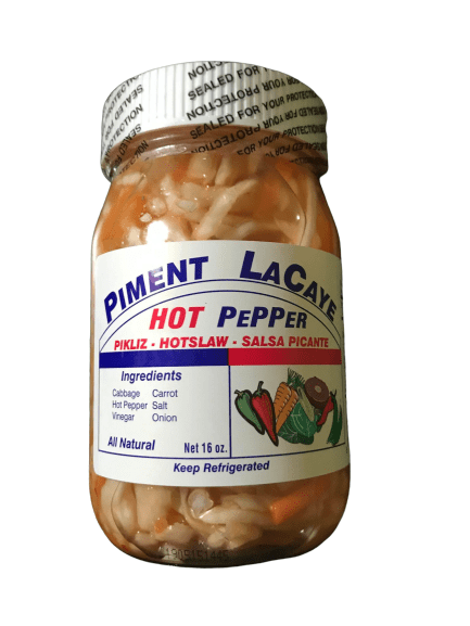 La Caye Piment Hot Pepper, 16 oz - ShelHealth.Com
