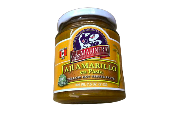 La Marinera La Marinera Aji Amarillo en Pasta, Yellow Hot Pepper Paste, 7.5 oz