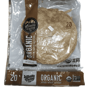 La Tortilla Factory La Tortilla Factory Whole Wheat Low Carb Tortillas - Pack of 20 - 30.33 Oz / 1.89 Lb