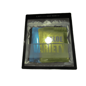 Lapcos Sheet Mask Set Aloe Variety Pack - 10 Masks - ShelHealth.Com