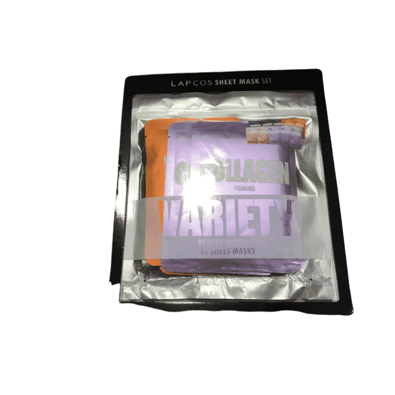 Lapcos Lapcos Sheet Mask Set Collagen Variety Pack - 10 Masks