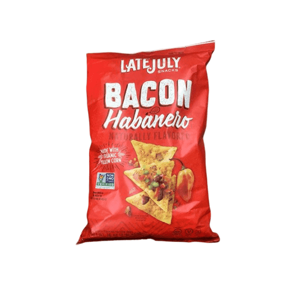 Late July Late July Snacks Bacon Habanero Tortilla Chips, 16 oz.