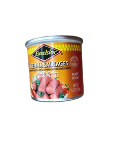 Excelsior Libby Vienna Sausage, Hot & Spicy, 4.6 Ounce