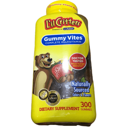 Lil Critters Lil Critters Gummy VITES Complete Multivitamin, 300 Gummies