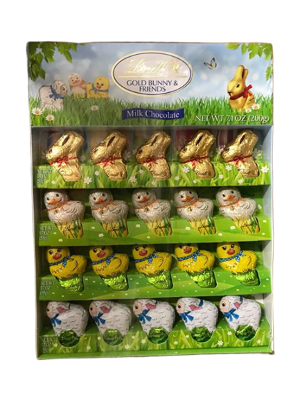 Lindt Lindt Bunny and friends Milk Chocolate 7.1 oz.-200g