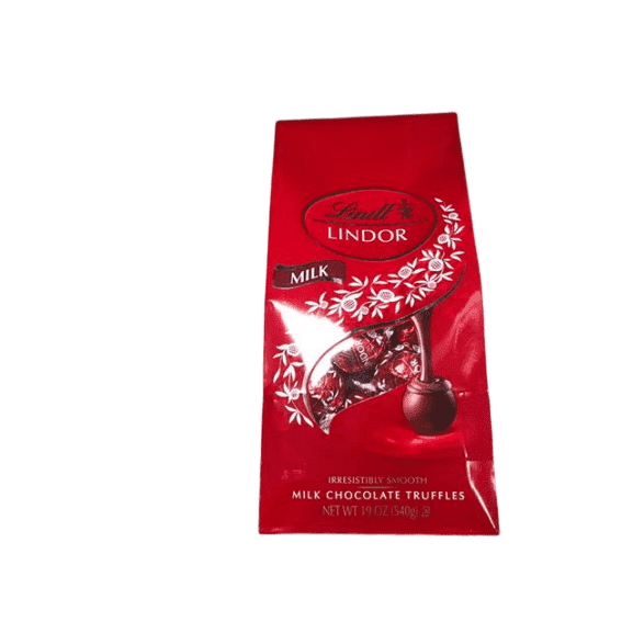 Lindt Lindt Lindor Milk Chocolate Truffles, 19 Ounce Bag