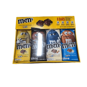 M&M's M&M'S Chocolate Candy Bars with Minis Variety Pack (8 ct.) , 31.2 oz.