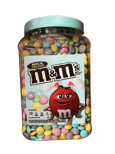 M&M's M&M's Milk Chocolate Candies, Limited Easter Edition, 62 oz