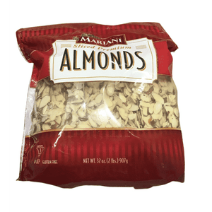 Mariani Mariani Mariani Sliced Almonds, 2 Pound