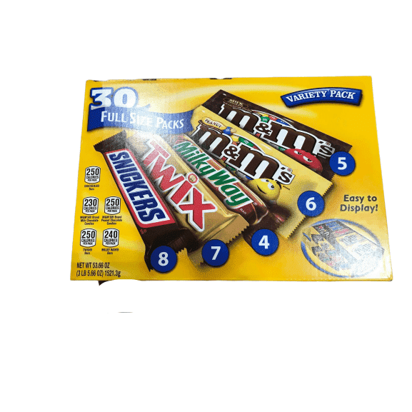 Mars Mars Mixed Variety Pack, 30 Count