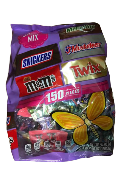 Mars Mars Spring Mix Variety Pack, 150 ct.
