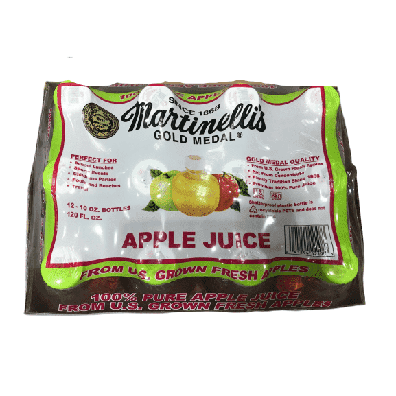 Martinelli's Martinelli's Apple Juice, 10-Ounce Pet (Pack of 12)