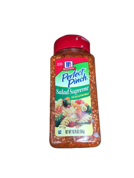 McCormick McCormick Perfect Pinch Salad Supreme Seasoning, 10.75 oz