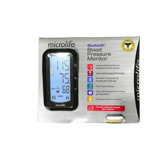 Microlife Microlife Arm Blood Pressure Bluetooth Monitor, Model BP3GY1-5X