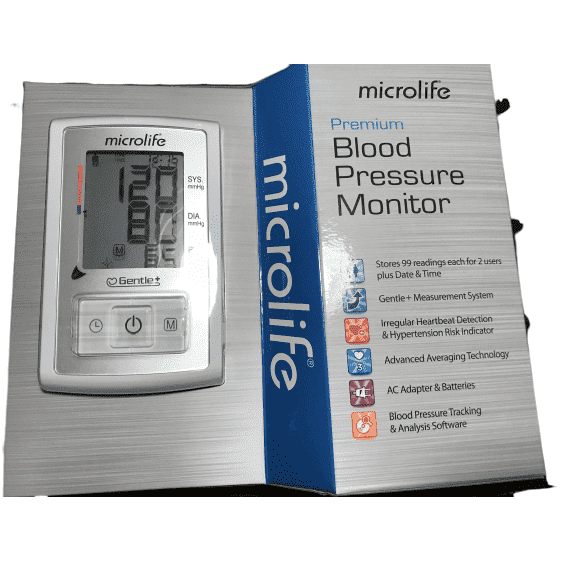 Microlife Microlife Premium Blood Pressure Monitor Complete Kit - BP3GX1-5A