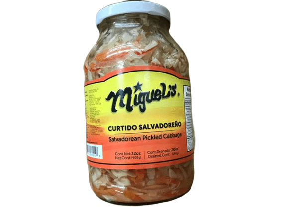 Miguel's Miguel's Curtido Salvadoreno, Salvadorean Pickled Cabbage, 32 oz