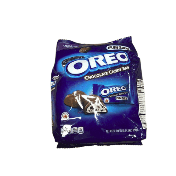 Milka Milka Oreo Fun Size Chocolate bar 57 Count, 30.2 oz