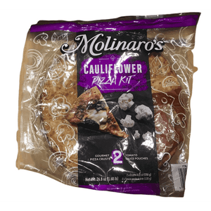 Molinaros Molinaro's Cauliflower Pizza Crust Kit, 2 Pack, 1.68LB