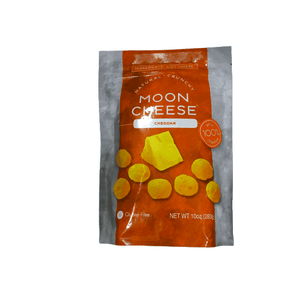Moon Cheese Moon Cheese - 100% Natural Cheese Snack - Cheddar - 10 oz