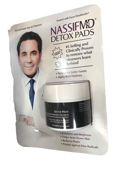 NassifMD NassifMD Dermaceuticals Complexion Perfecting Detoxification Pads , 60 Count