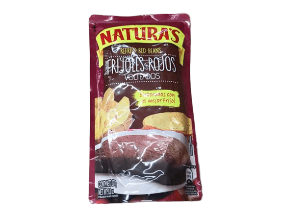 Natura's Natura's Doy Pack Red Beans 8 oz - Frijoles Rojos Volteados