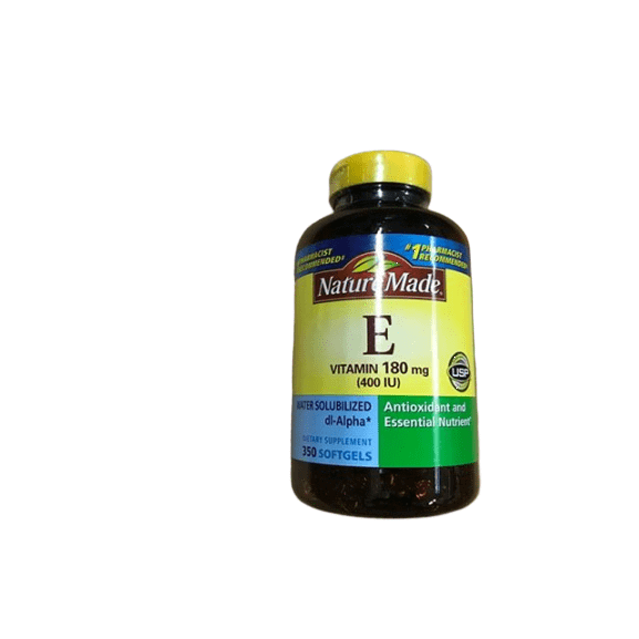 Nature Made Nature Made 400 I.U. Water Solubilized Vitamin E Softgels, 350 ct.
