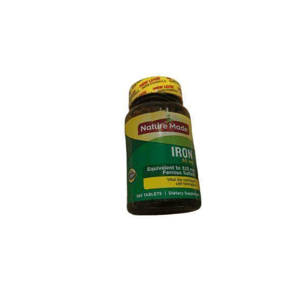 Nature Made Nature Made Iron 65 mg, 365 Tablets