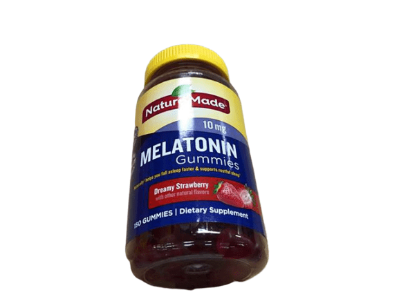 Nature Made Nature Made Melatonin 10 mg Gummies, Dreamy Strawberry, 150 Count