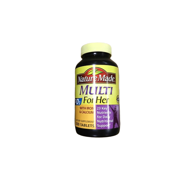 Nature Made Nature Made Multi For Her Tablets, 300 ct.